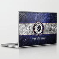 chelsea Laptop & iPad Skins featuring CHELSEA by Acus