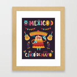 Cinco de Mayo – Mexico Framed Art Print