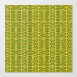 Marijuana Leaf Pattern Canvas Print
