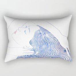 Water Nymph LXXIX Rectangular Pillow