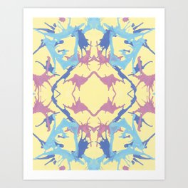 Blow Away Art Print