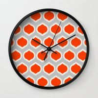 morocco Wall Clocks featuring Morocco by Amy Harlow