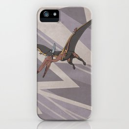Pteranostorm - Superhero Dinosaurs Series iPhone Case