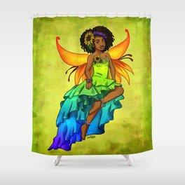 Summer Fairy Shower Curtain