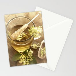 Elder Tea Still life for kitchen Stationery Cards