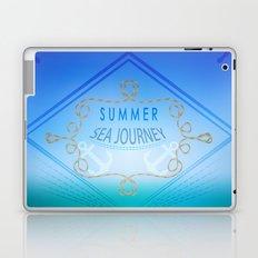 Summer . Sea travel . Laptop & iPad Skin