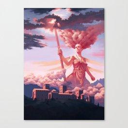 Nephelee, Nymph of Nebula Canvas Print
