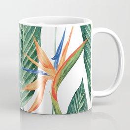 Banana And Flowers #society6 Coffee Mug