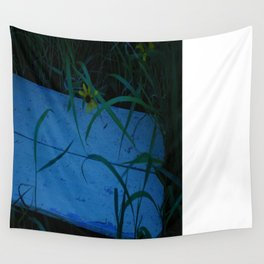 So Blue Bench Wall Tapestry