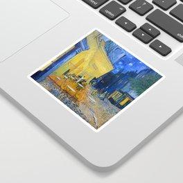 Vincent Van Gogh - Cafe Terrace at Night Sticker