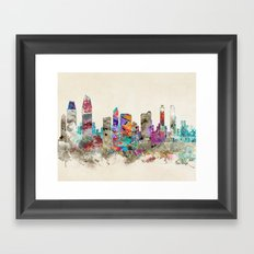 san diego california Framed Art Print