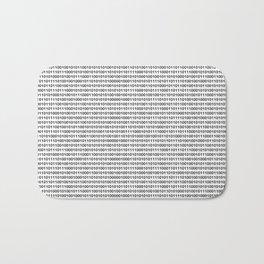 The binary code Bath Mat