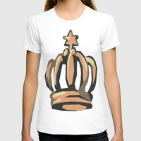 crown T-shirts featuring Crown by Kritika Kripakaran