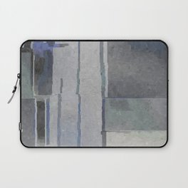 Blues and Grays Laptop Sleeve