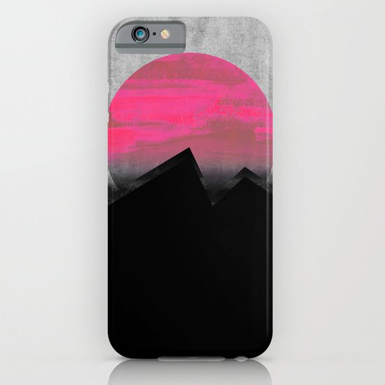 Pink Sun iPhone & iPod Case