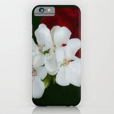 Geranium as art Slim Case iPhone 6s