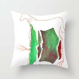 Double Pony Throw Pillow