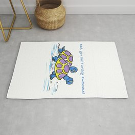 Dad, you're turtley awesome! Rug