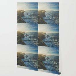 Cliffside Morning Wallpaper
