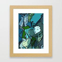Melt Love. Framed Art Print