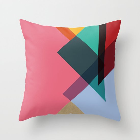 Triangles (Part 2) Throw Pillow