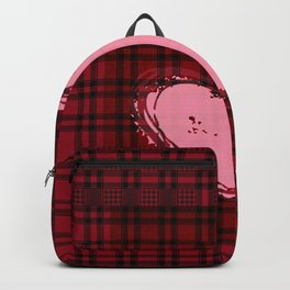 Heart on Flannel Backpack