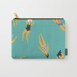 Swimming Girls Carry-All Pouch