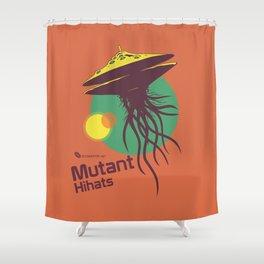 Hexinverter.net – Mutant Hihats Shower Curtain