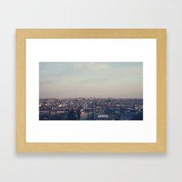 Parisian Rooftop Vista Framed Art Print