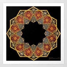 Islamic Pattern2 Art Print