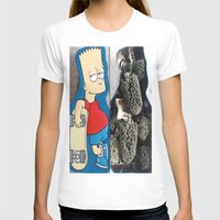 simpson T-shirts featuring Bart Simpson by Arran.Sahota