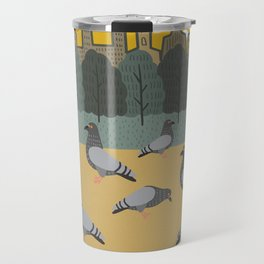 Pigeons Day Out Travel Mug