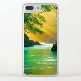 Waterflow Clear iPhone Case