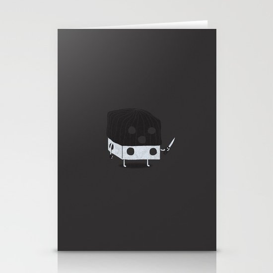 Dicey Little Guy Stationery Cards