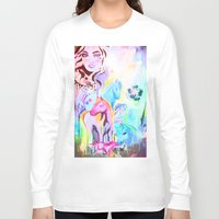 carousel Long Sleeve T-shirts featuring carousel by Charlie L'amour