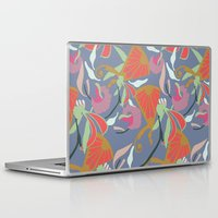 oriental Laptop & iPad Skins featuring Oriental  by Laura Sturdy