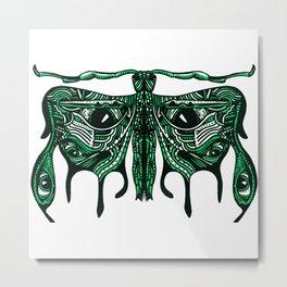 It is a Moth. Metal Print