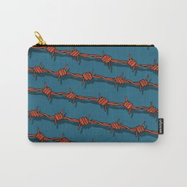 Barb Wire pattern Carry-All Pouch