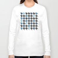 tooth Long Sleeve T-shirts featuring Blue Tooth by Project M