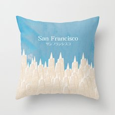 San Francisco TA Throw Pillow