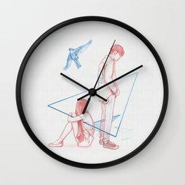 parting #1 Wall Clock