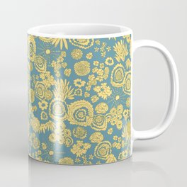 Scribble Ditsy Floral Coffee Mug