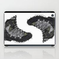shoe iPad Cases featuring Shoe 1 by AstridJN