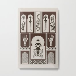Moroccan Daggers Metal Print