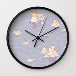 Puffinry Wall Clock