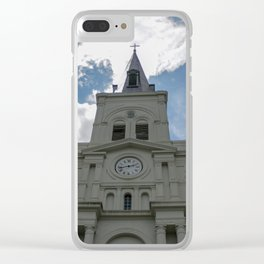 Piercing the Heavens Clear iPhone Case