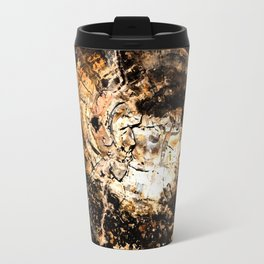 Petrified Tree Rings II Travel Mug