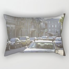 Montreal's Plateau Mont-Royal, one summer afternoon Rectangular Pillow