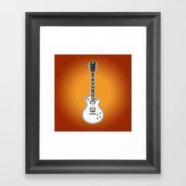 Gibson Les Paul Standard Framed Art Print