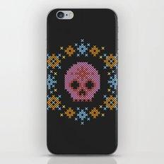 Scandi Scull iPhone & iPod Skin
